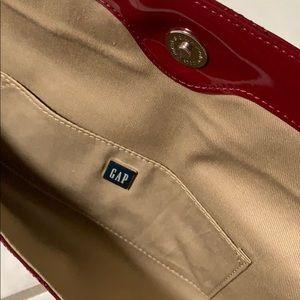 GAP Bags - GAP maroon clutch